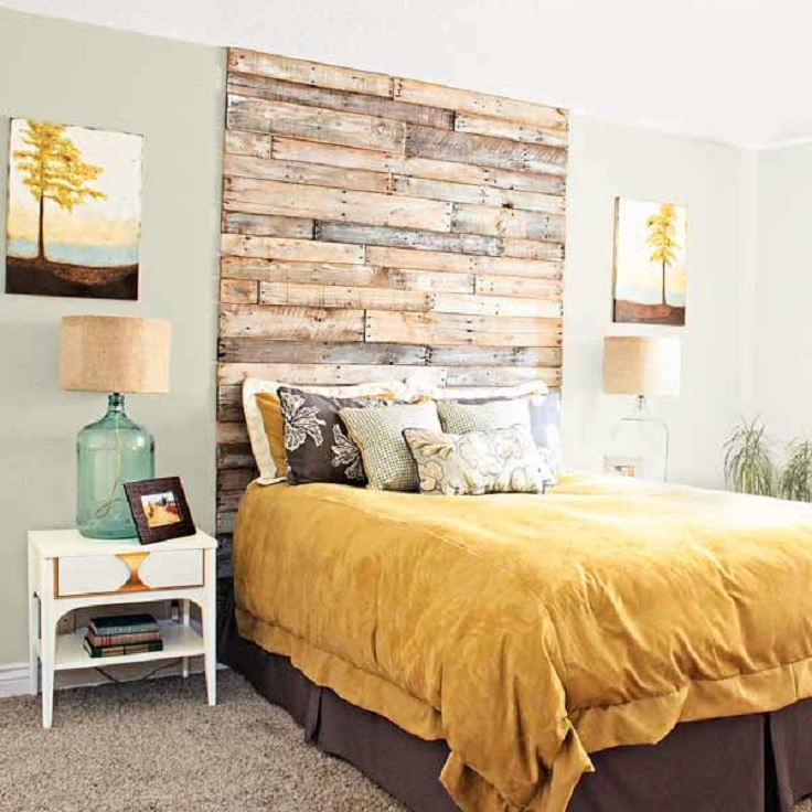 Top 10 cheap and chic diy headboard ideas top inspired for Buy cheap headboard