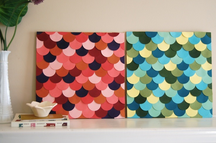 Top 10 diy simple wall art ideas for decorating your home for Cool paper decorations