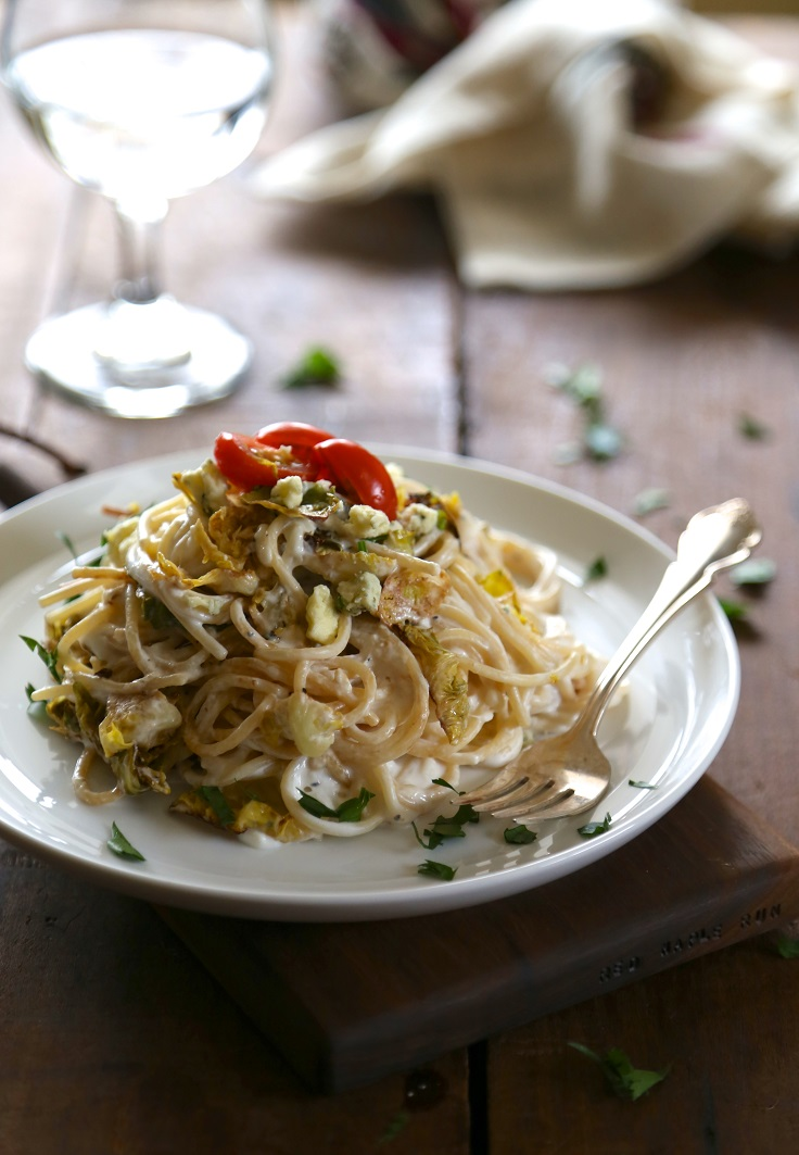 spaghetti-with-greek-yogurt-cream-sauce
