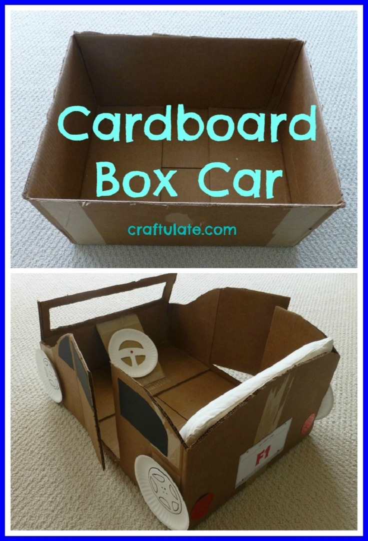 10 Ideas About Cardboard Box Cars On Pinterest: Top 10 Homemade Toys For Your Kids