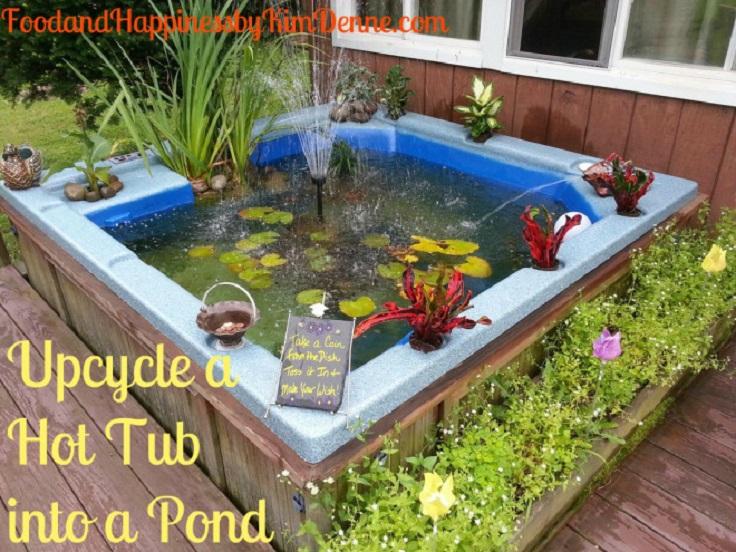 Amazing World 10 Awesome Garden Aquarium and Pond Ideas