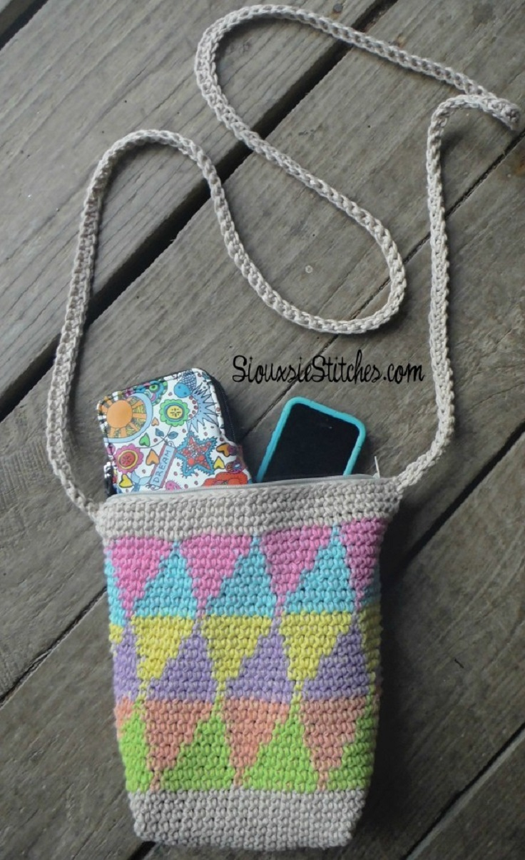 Tapestry Crochet Bag : tapestry-crochet-bag-for-spring