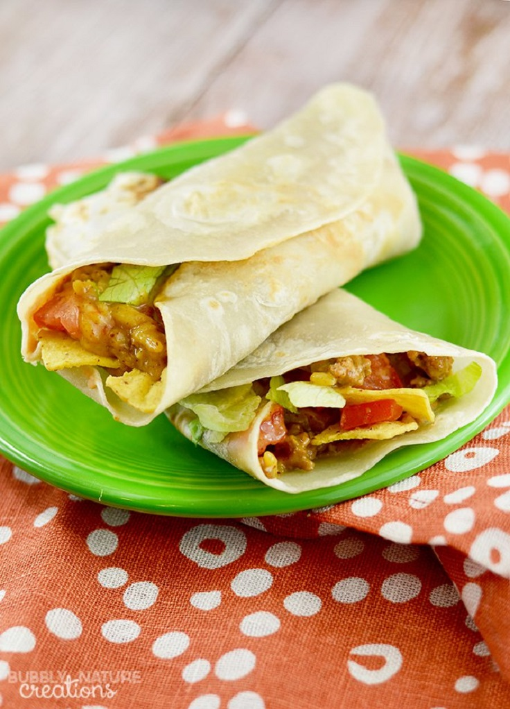 Beef-and-Bean-Burritos