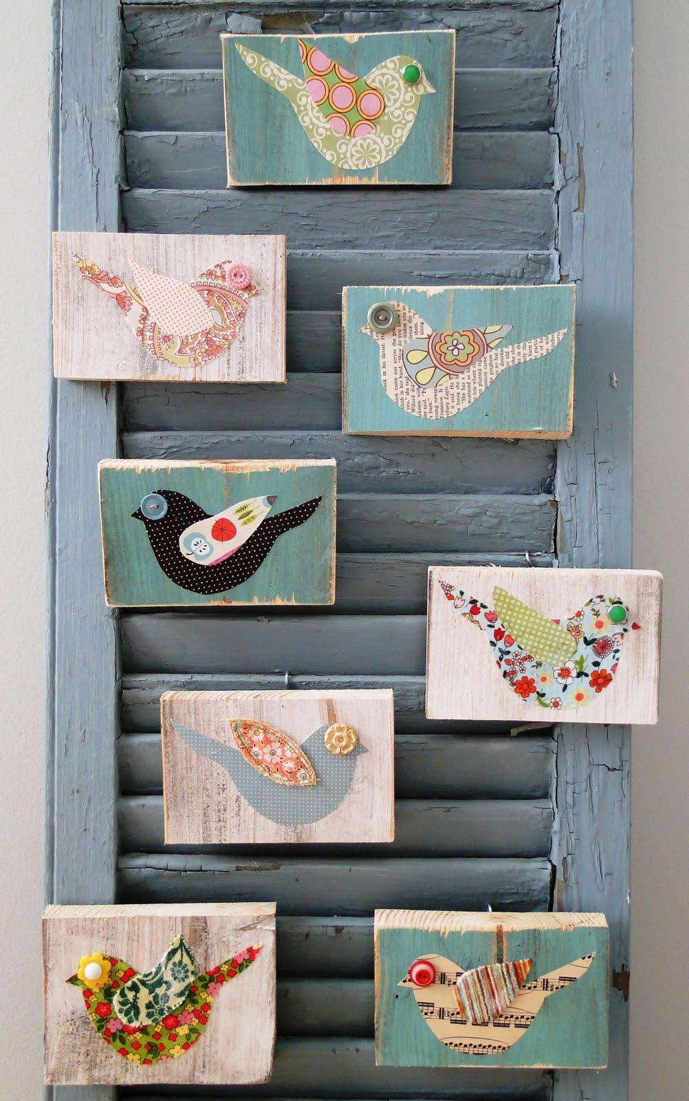 Button-Bird-Art