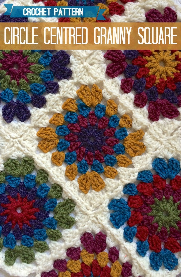 Crochet Basic Granny Square Pattern : TOP 10 Free Crochet Granny Square Patterns - Top Inspired