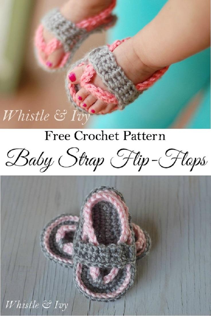 Crochet-Baby-Strap-Flip-Flop-Sandals1
