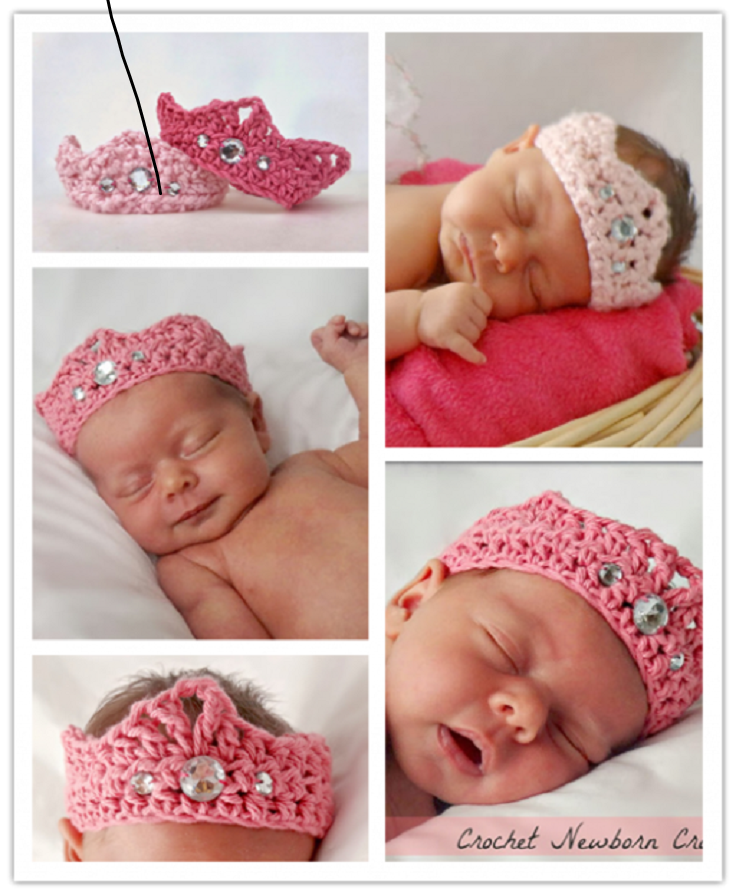 TOP 10 Free Patterns For Crochet Crowns and Tiaras Fit for ...