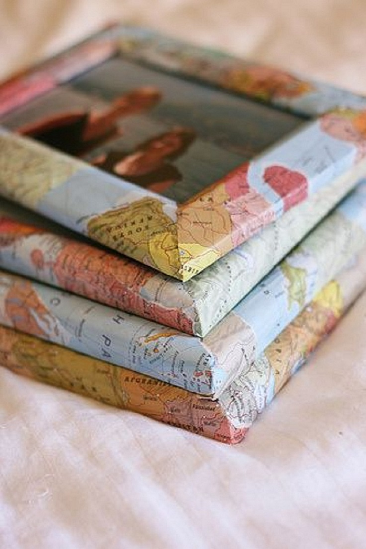 Top 10 Diy Map Gifts For Travel Lovers Top Inspired