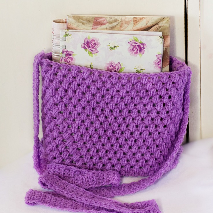 Crochet Small Tote Bag Pattern : TOP 10 Free Easy Crochet Patterns for Beginners - Top Inspired