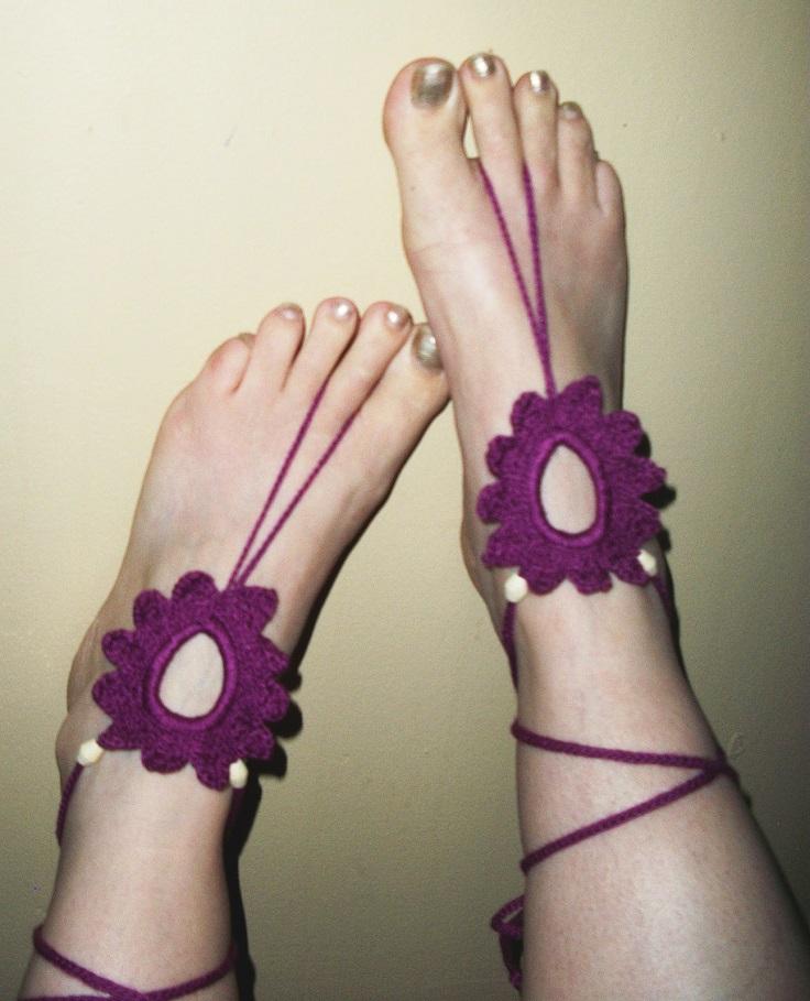 Flower-Feet-Barefoot-Sandals