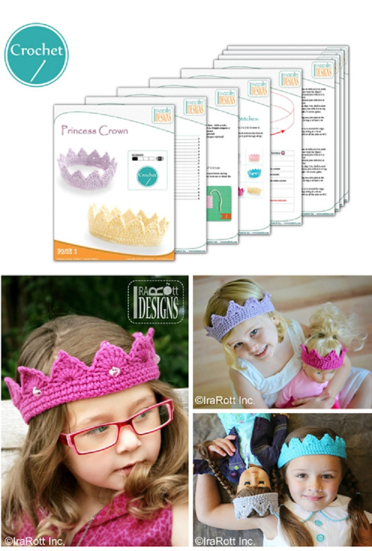 Free-Princess-Crown-Tiara-Crochet-PDF-Pattern
