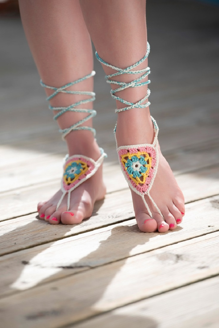 Free-barefoot-sandals-crochet-pattern