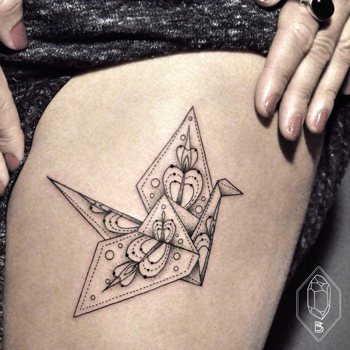 Geometric-Tattoo-Origami