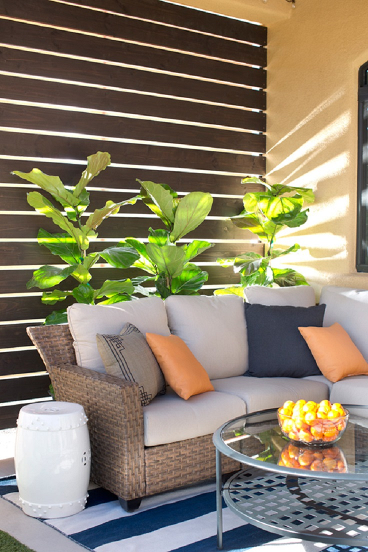 Top 10 clever diy patio privacy screen ideas for Backyard screening ideas