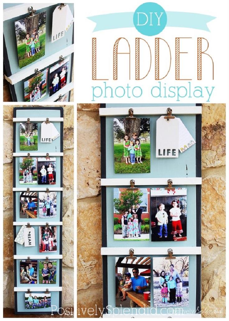 Ladder-Photo-Display