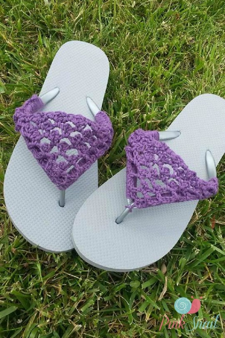 TOP 10 Free Crochet Patterns for Adorable Flip Flops to Get You Ready for Summer