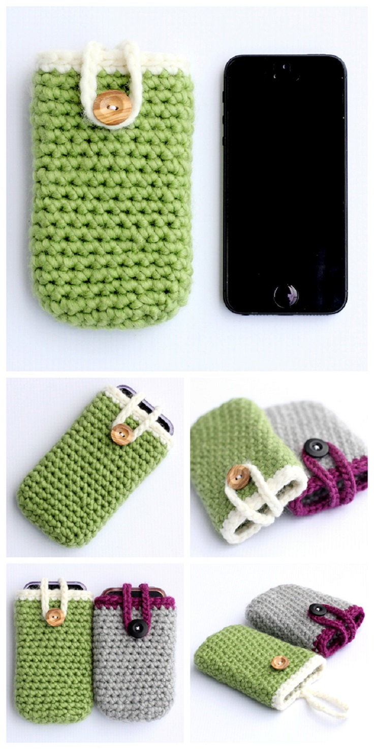Quick-and-Easy-Crochet-iPhone-Case