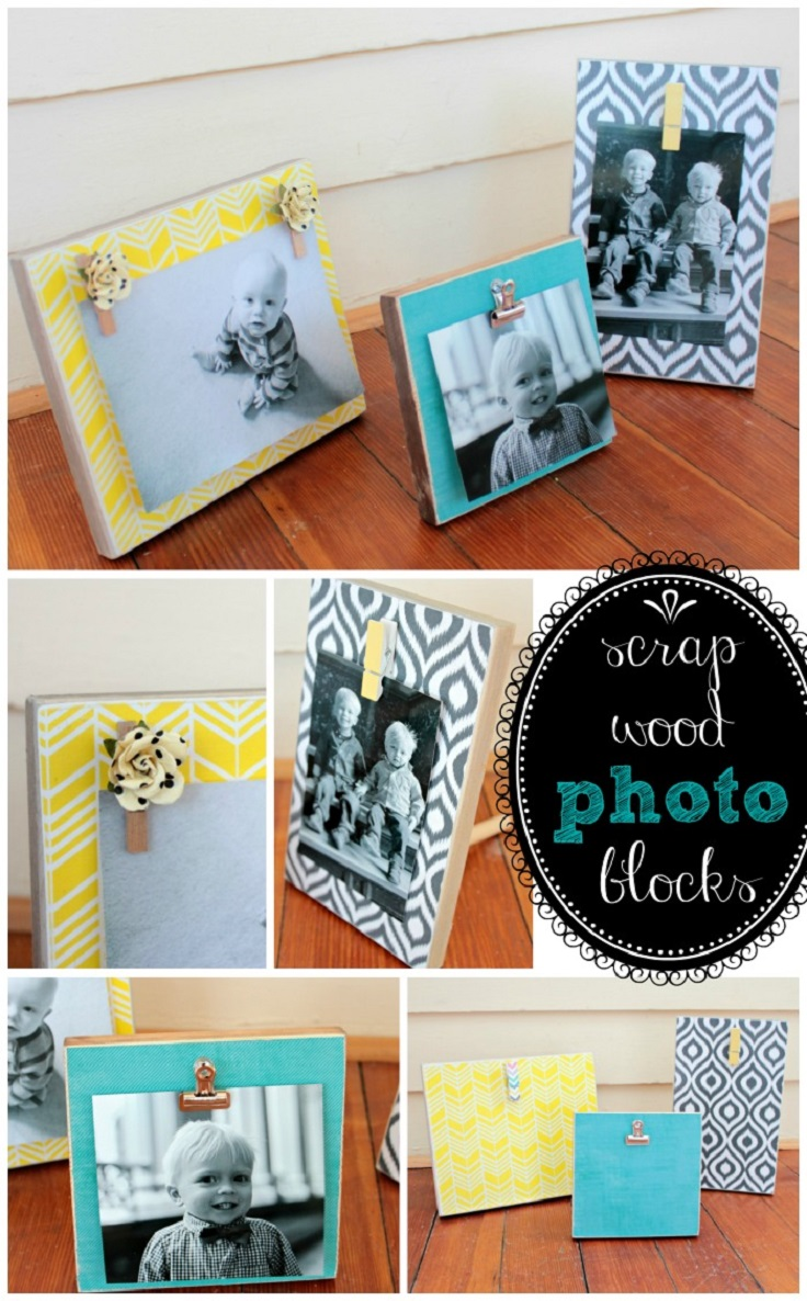 Wooden Blocks For Crafts ~ Top artful wood block crafts inspired