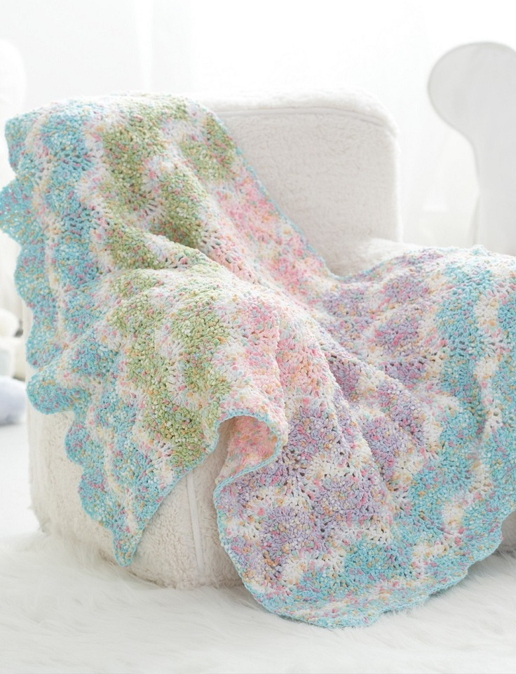 Sweet-Pastel-Waves-Crochet-Baby-Blanket-Pattern