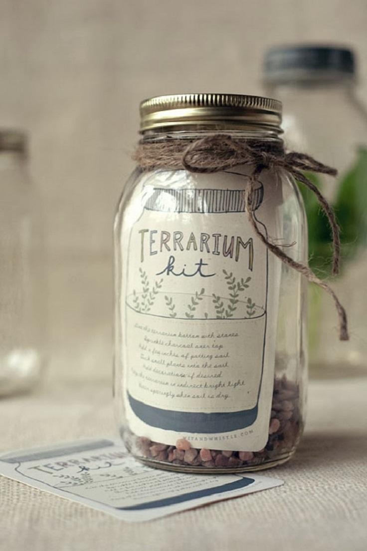 Top 10 DIY Mason Jar Gifts