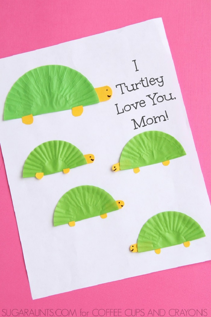 Turtle-Themed-Mother-s-Day-Card