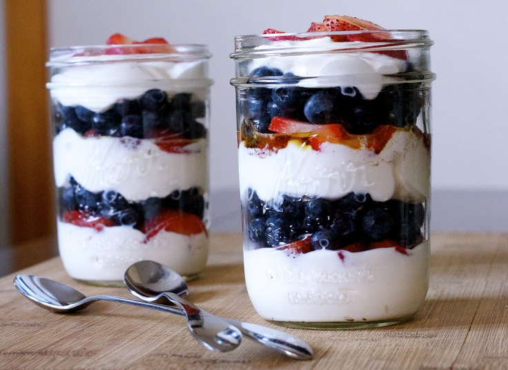 Easy dessert parfait recipes