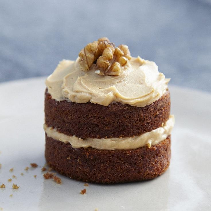 Coffee Walnut Cake Cupcakes