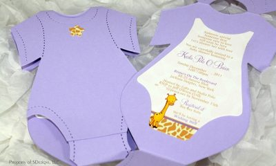 Top 10 Creative DIY Baby Shower Invitation Ideas | Top Inspired