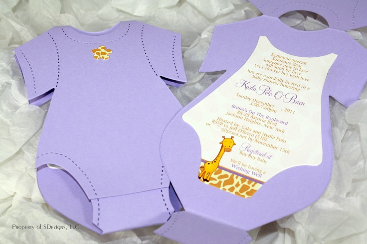 10 creative diy baby shower invitation ideas, Baby shower invitations