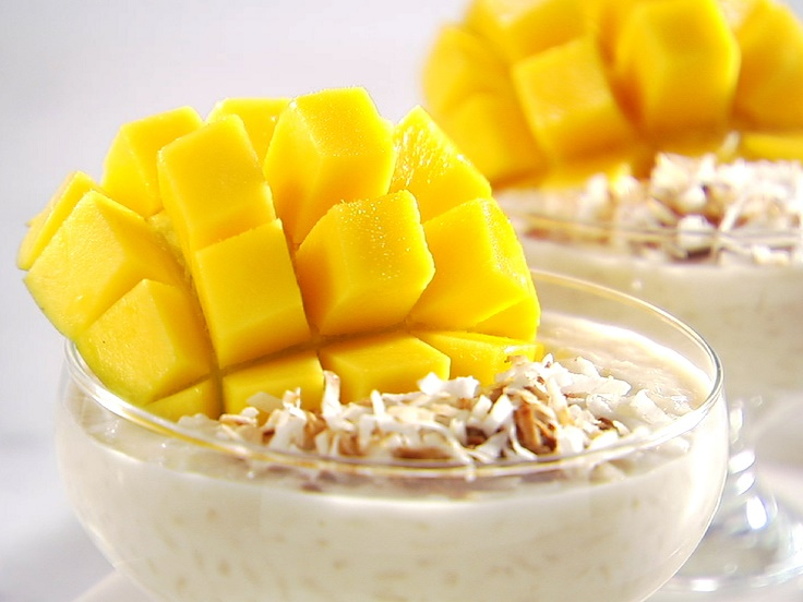 pudding mango coconut rice pudding coconut mango rice pudding coconut ...