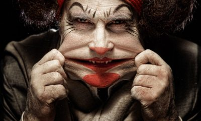 TOP 10 Most Terrifying Photos of Clowns that will give you creeps | Top Inspired