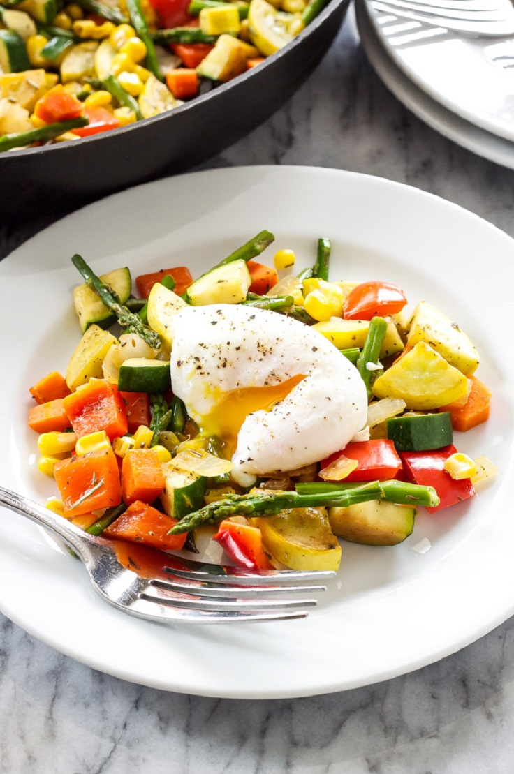 vegetable-hash-with-poached-eggs