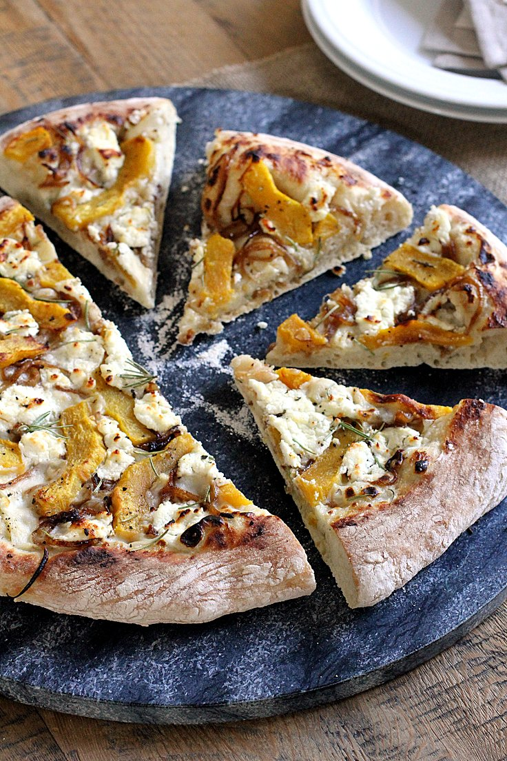 Acorn-Squash-Caramelized-Onion-and-Goat-Cheese-Piz