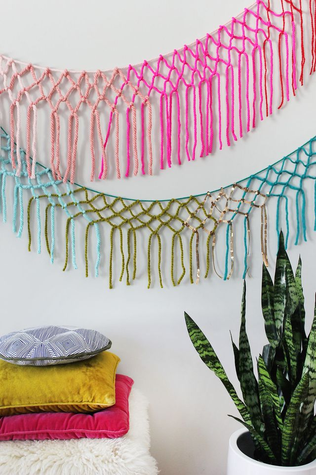 Colorful-Macrame-Yarn-Garland