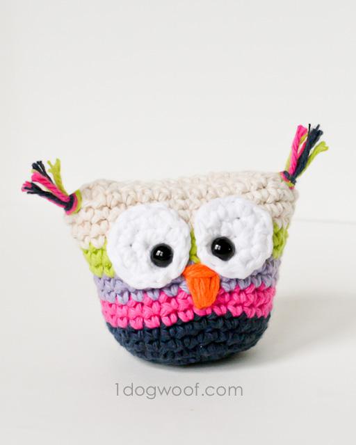 Crochet-Owl-Pouch