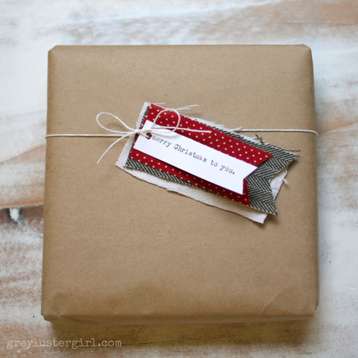 Fabric-tag-gift-wrapping