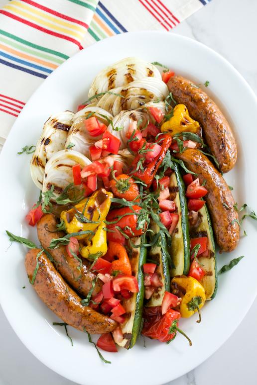 Grilled-Italian-Platter-with-Basil-Balsamic-Vinaigrette