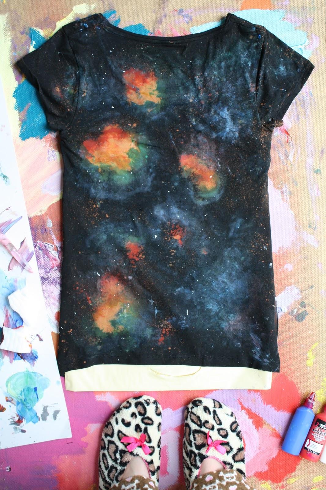 diy nebula shirt -#main