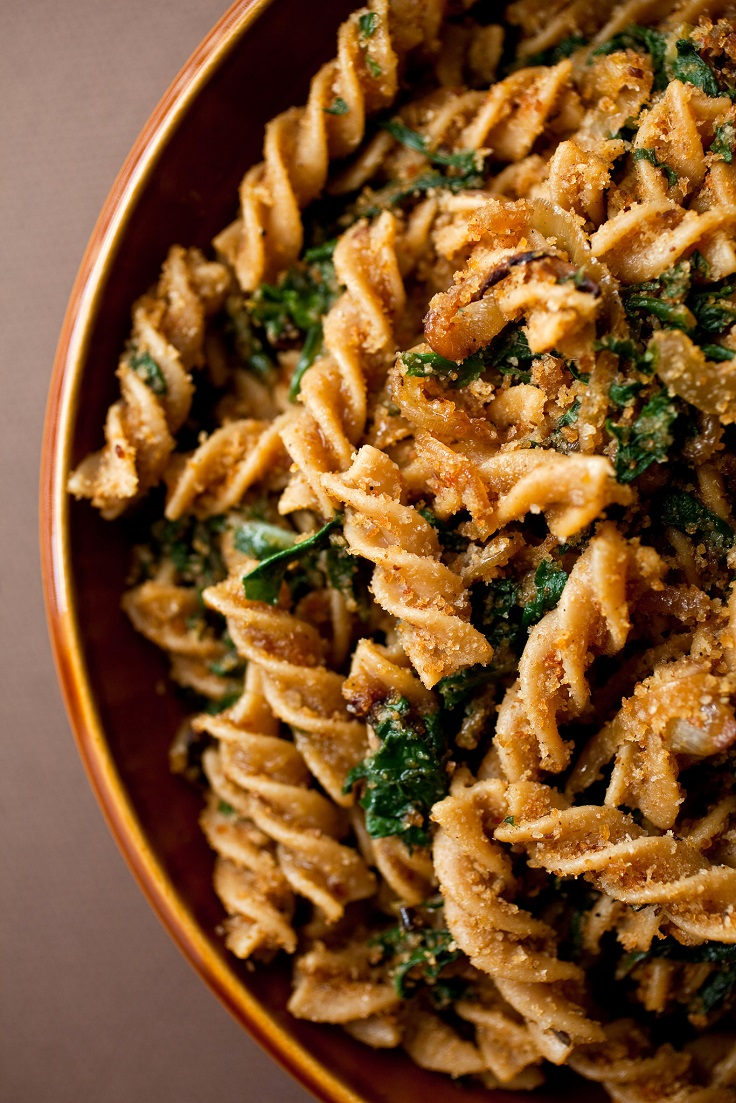 Pasta-With-Caramelized-Onion