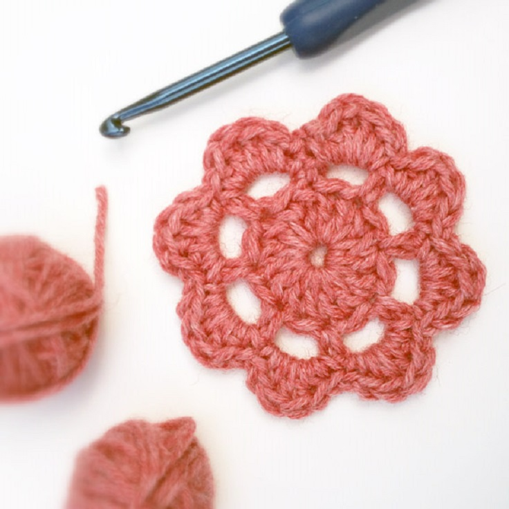 TOP 10 Fun & Free Crocheted Motif Patterns
