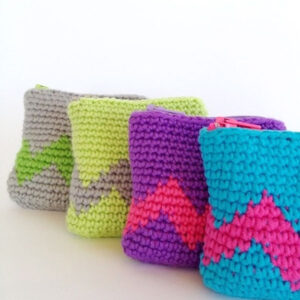 TOP 10 Free Patterns for Crocheted Coin Purses | Top Inspired