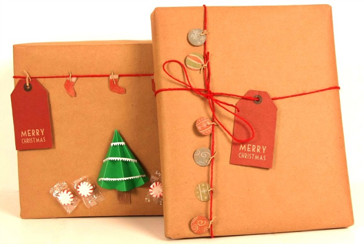 wrapping-with-kraft-paper