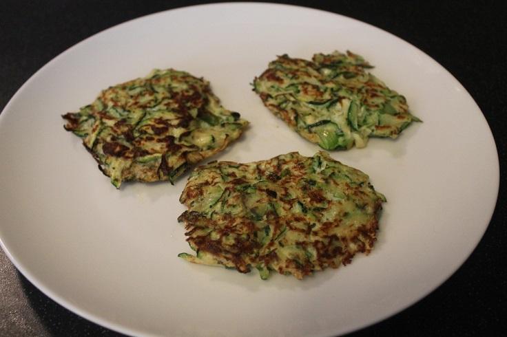 zucchini-and-green-onions-frittatas