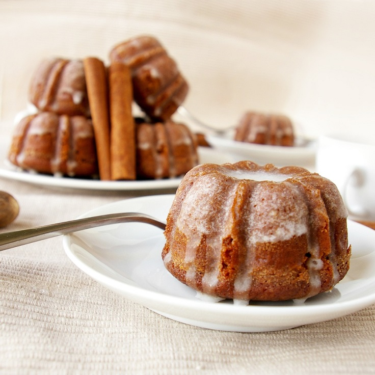 Gingerbread-Bundts