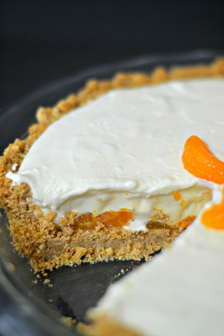 Mandarin-Orange-Cheesecake