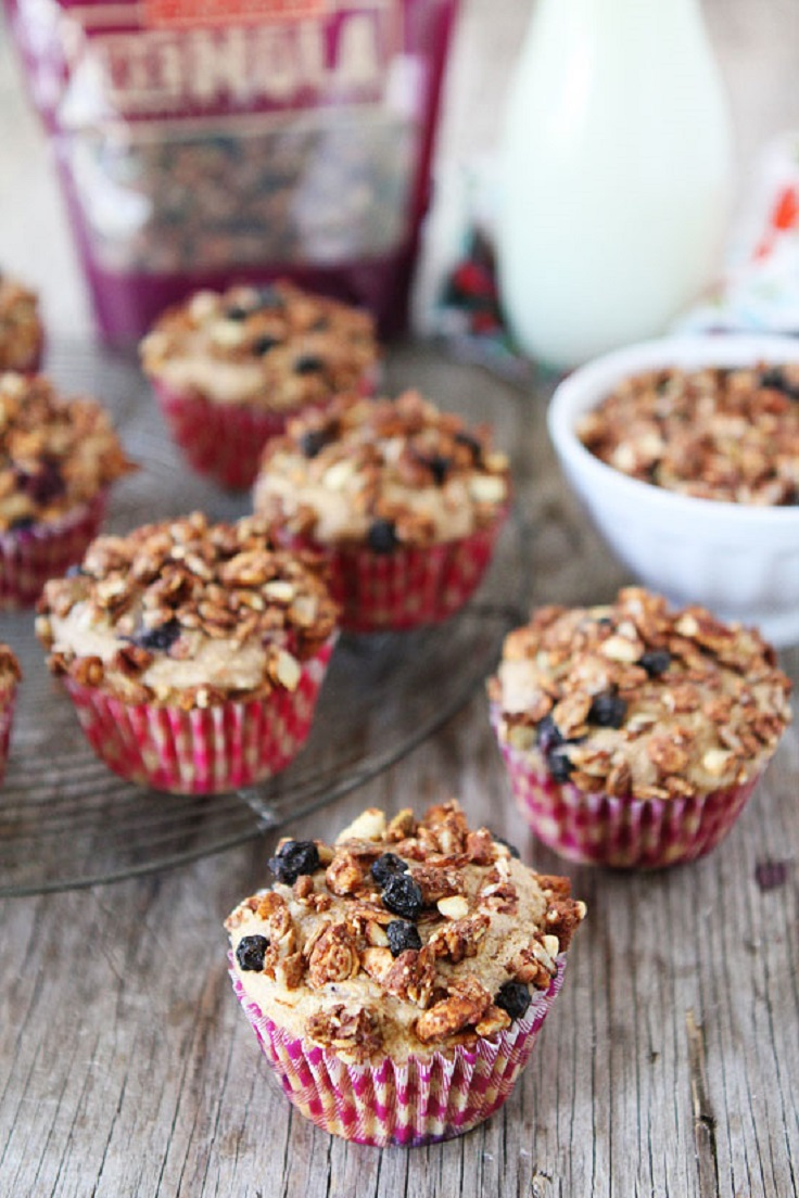 Mixed-Berry-Granola-Muffins