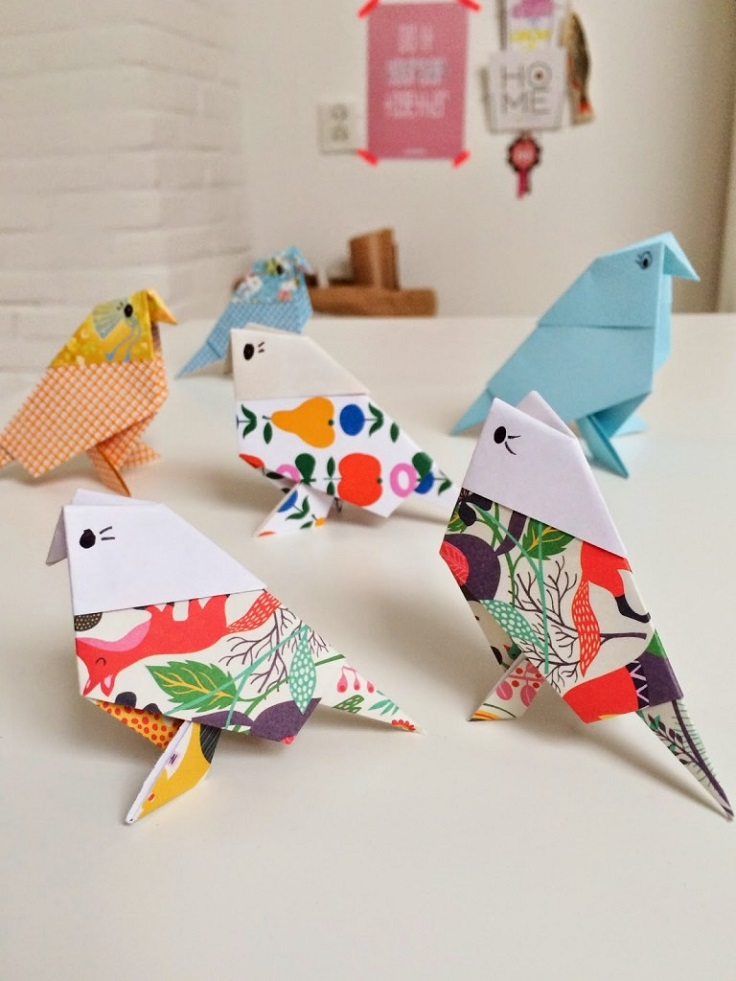 Top 10 fun diy origami projects top inspired for Diy paper origami