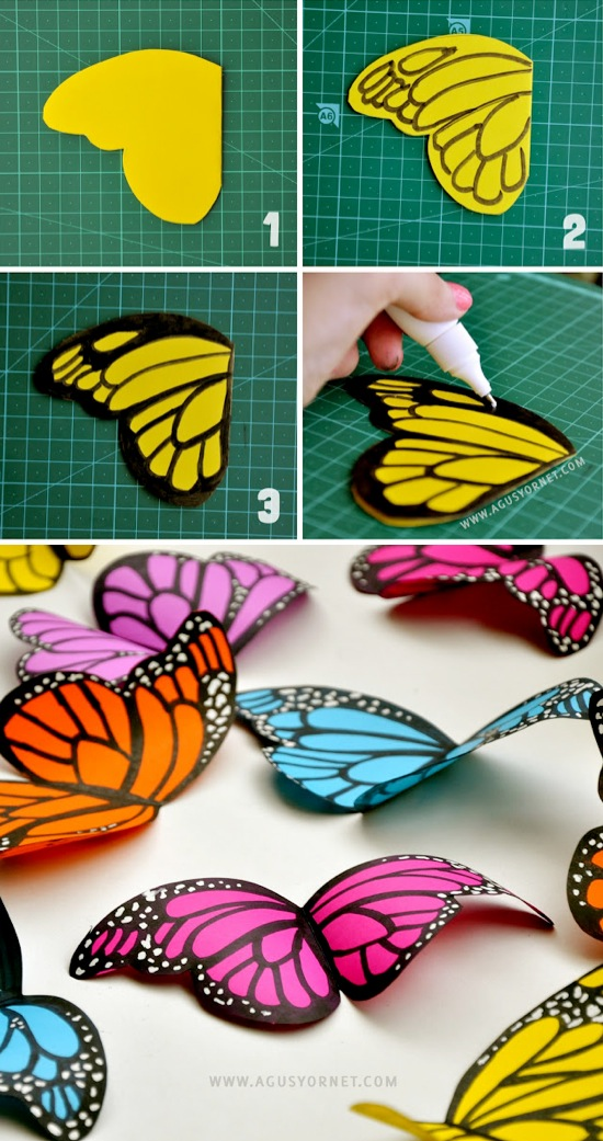 Top 10 cool diy teen room decor top inspired for Room decor out of paper