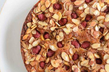 Raspberry-Almond-Cake