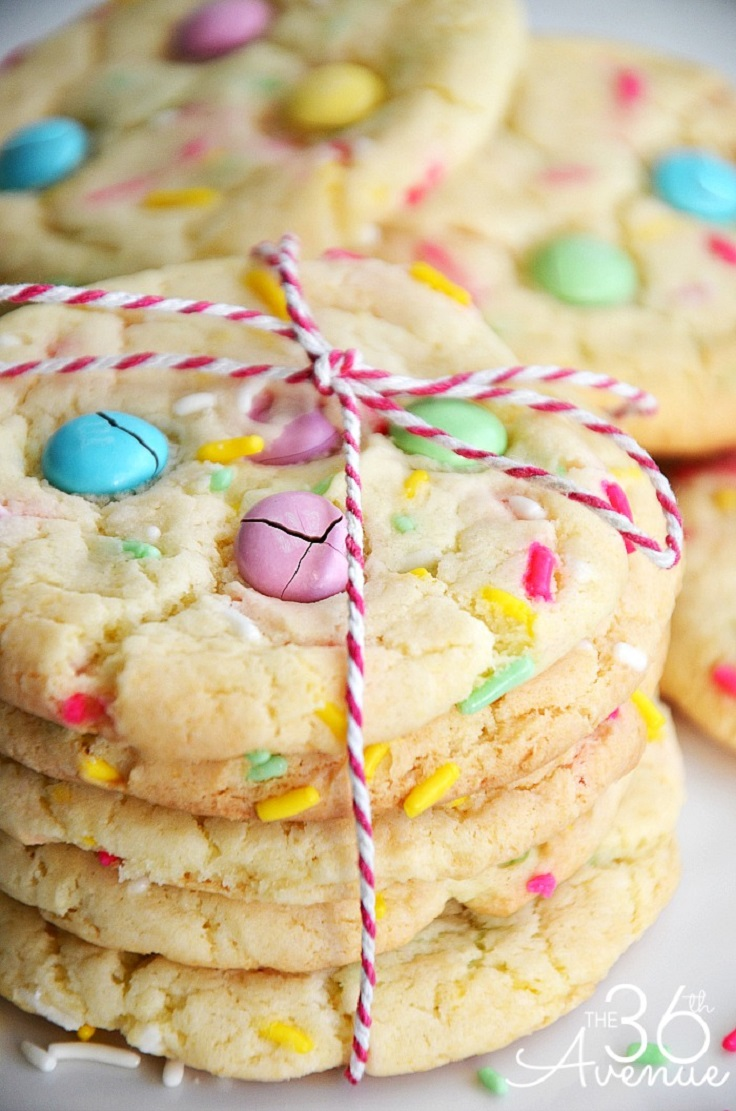 Funfetti Cake Mix Cookies Without Eggs